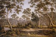 John glover The River Nile,Van Diemen's Land from Mr Glover's from 1837 oil painting artist