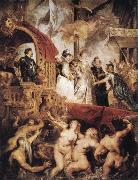 Peter Paul Rubens The Landing of Marie de'Medici at Marseilles oil painting picture wholesale