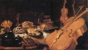 Pieter Claesz Still Life with Museum instruments oil painting picture wholesale