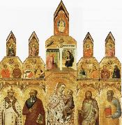 Pietro Lorenzetti Polyptych oil painting picture wholesale