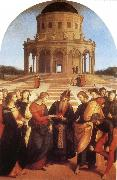 Raphael Marriage of the Virgin oil painting picture wholesale