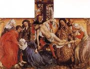 Rogier van der Weyden Descent from the Cross oil painting picture wholesale