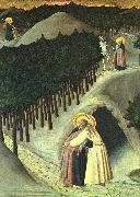 SASSETTA The Meeting of St. Anthony and St. Paul oil painting picture wholesale