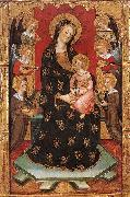 SERRA, Pedro Madonna with Angels Playing Music oil painting picture wholesale