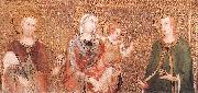 Simone Martini Madonna and Child between St Stephen and St Ladislaus oil painting picture wholesale