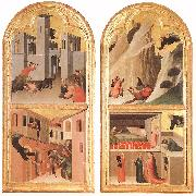 Simone Martini Blessed Agostino Novello Altarpiece oil painting picture wholesale