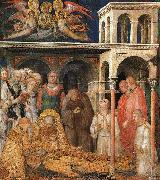 Simone Martini The Death of St. Martin oil painting picture wholesale