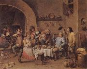 TENIERS, David the Younger Twelfth Night oil painting picture wholesale