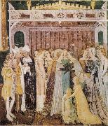 TOMMASO DA MODENA The Departure of St Ursula oil painting artist