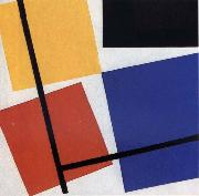Theo van Doesburg Simultaneous Counter Composition oil painting picture wholesale