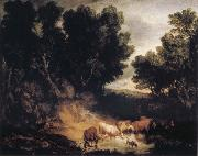 Thomas Gainsborough The Watering Place oil painting picture wholesale