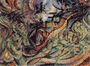 Umberto Boccioni State of Mind II The Farewells oil painting picture wholesale