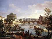 WITTEL, Caspar Andriaans van The Castel Sant'Angelo from the South oil painting picture wholesale