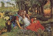William Holman Hunt The Hireling Shepherd oil painting picture wholesale