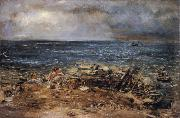 William Mctaggart The Emigrants oil painting artist