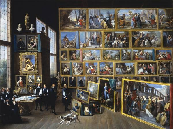 David Teniers Archduke Leopold William in his Gallery in Brussels-p oil painting image