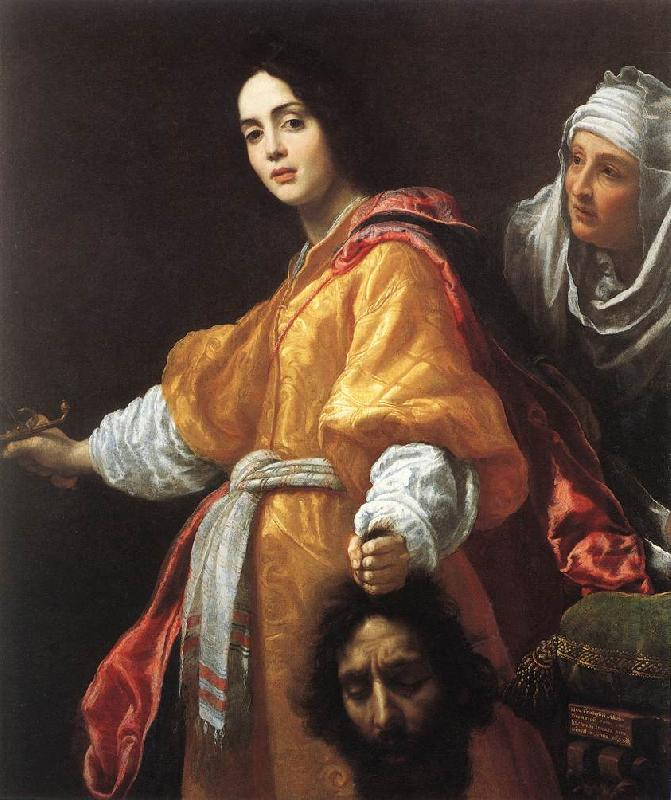 ALLORI  Cristofano Judith with the Head of Holofernes   1 France oil painting art