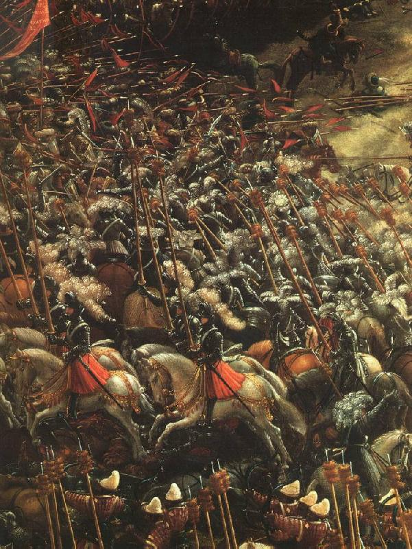 ALTDORFER, Albrecht The Battle of Alexander (detail)   bbb France oil painting art