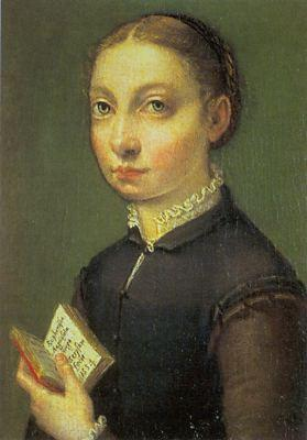 ANGUISSOLA  Sofonisba Self-Portrait  ghjlytyty France oil painting art