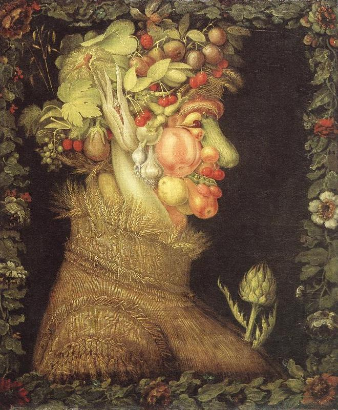 ARCIMBOLDO, Giuseppe Summer  dfdffdv France oil painting art