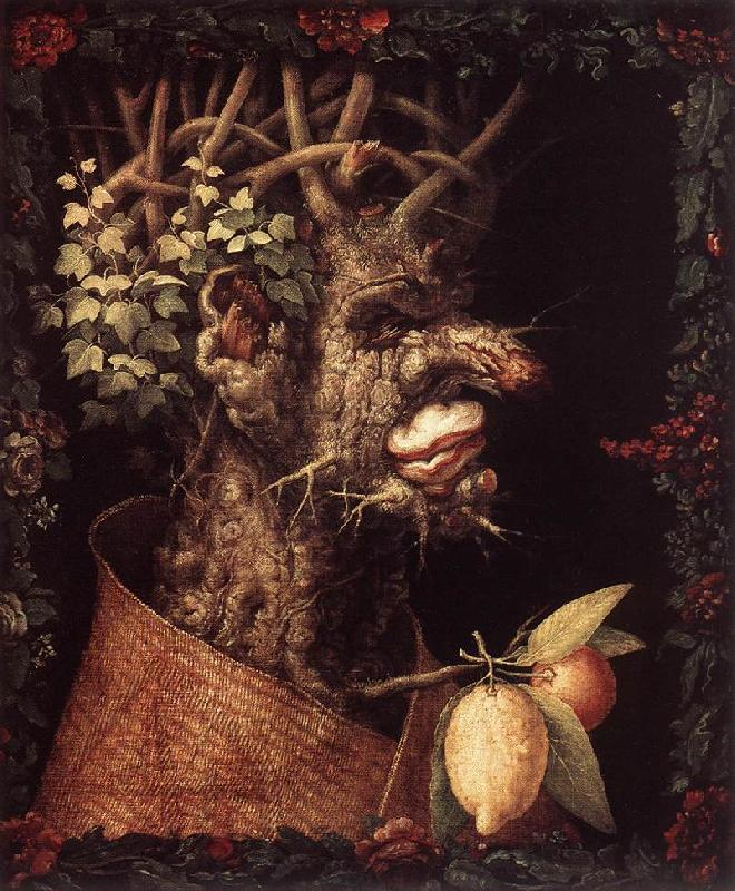 ARCIMBOLDO, Giuseppe Winter  ghggh France oil painting art