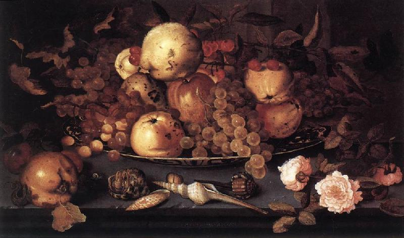AST, Balthasar van der Still-life with Dish of Fruit  ffg France oil painting art