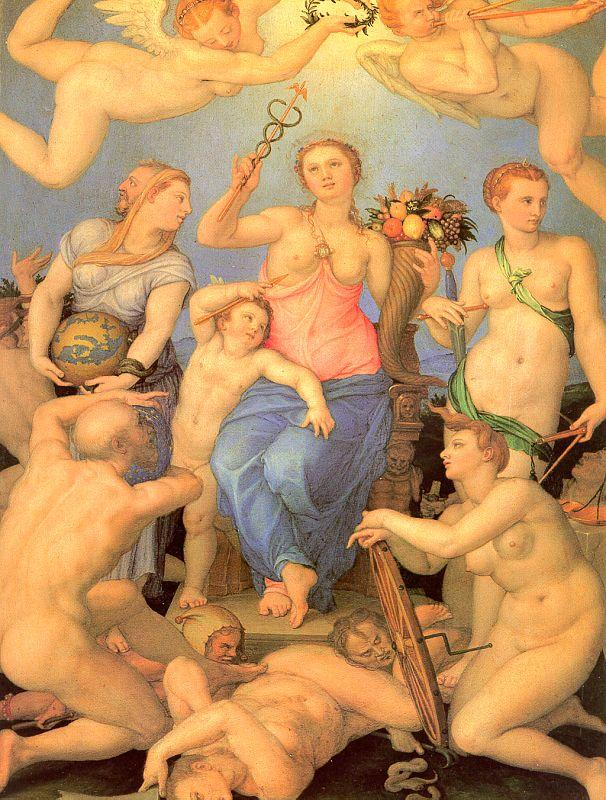 Agnolo Bronzino Allegory of Happiness oil painting image