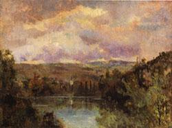 Albert Lebourg Edge of the Ain River oil painting image