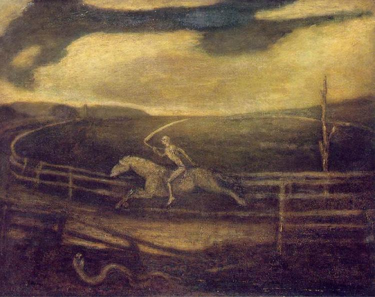 Albert Pinkham Ryder The Race Track France oil painting art