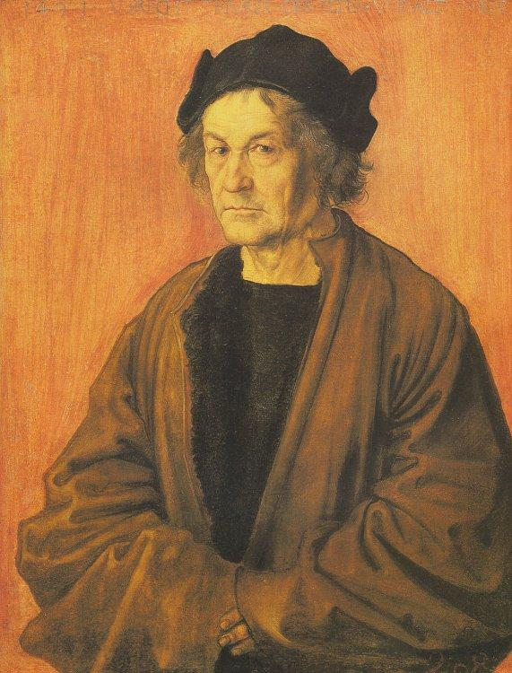 Albrecht Durer The Painter's Father_l oil painting image