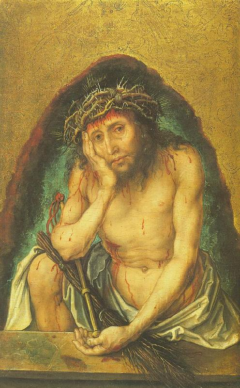 Albrecht Durer Christ as the Man of Sorrows oil painting image