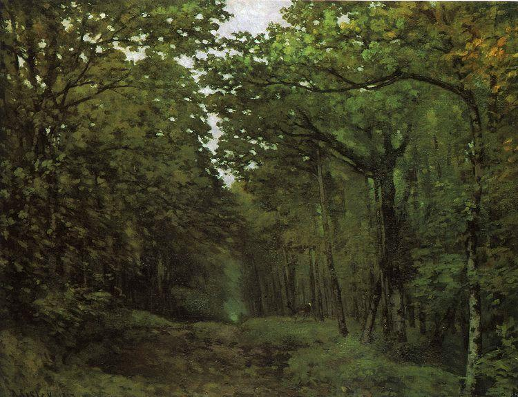 Alfred Sisley Avenue of Chestnut Trees France oil painting art