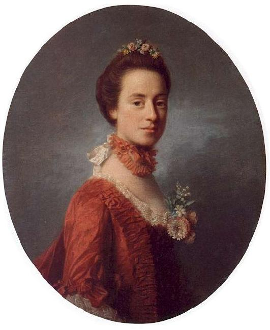 Allan Ramsay Lady Robert Manners France oil painting art