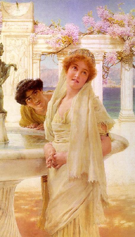 Alma Tadema A Difference of Opinion oil painting image