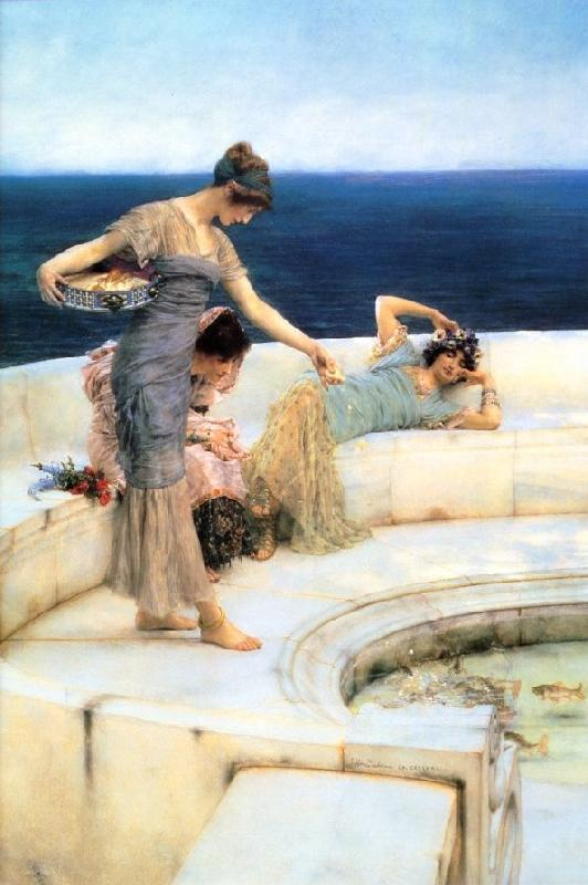 Alma Tadema Silver Favourites oil painting image