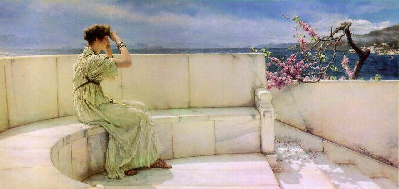 Alma Tadema Expectations oil painting image