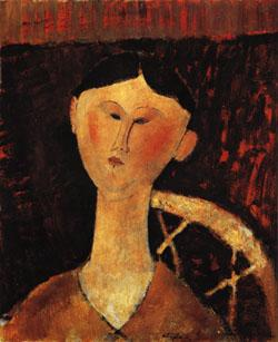 Amedeo Modigliani Portrait of Mrs. Hastings oil painting image