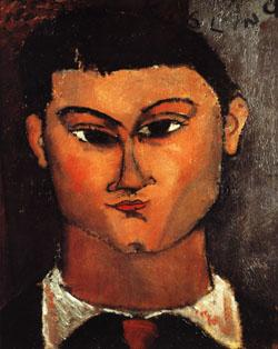 Amedeo Modigliani Moise Kisling oil painting image