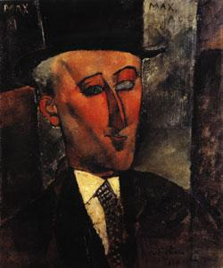 Amedeo Modigliani Portrait of Max Jacob oil painting image