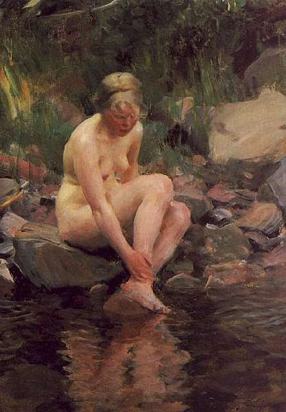 Anders Zorn Dagmar oil painting image
