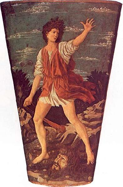 Andrea del Castagno The Young David oil painting image