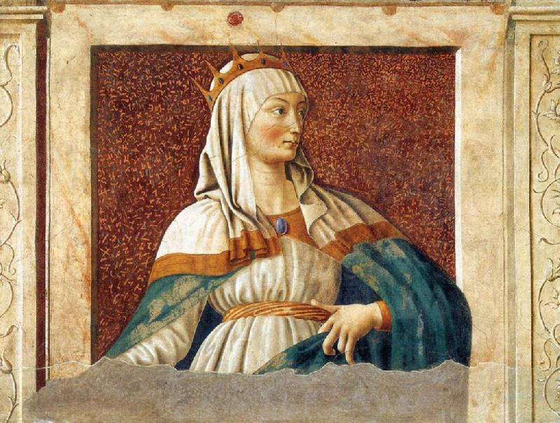 Andrea del Castagno Queen Esther France oil painting art