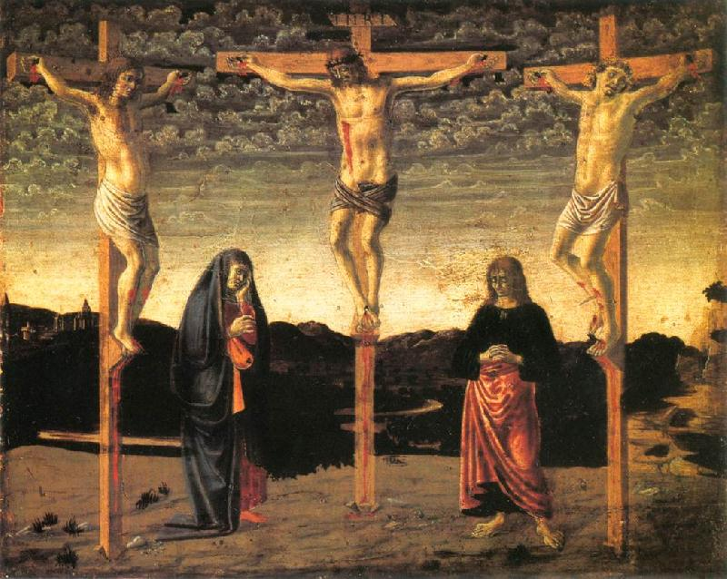 Andrea del Castagno Crucifixion  hhh France oil painting art