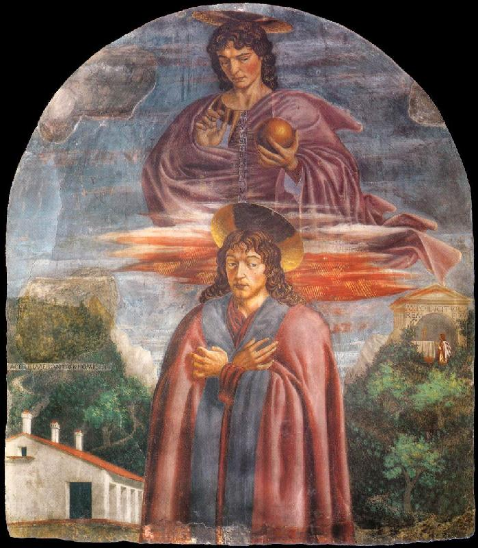 Andrea del Castagno St Julian and the Redeemer France oil painting art