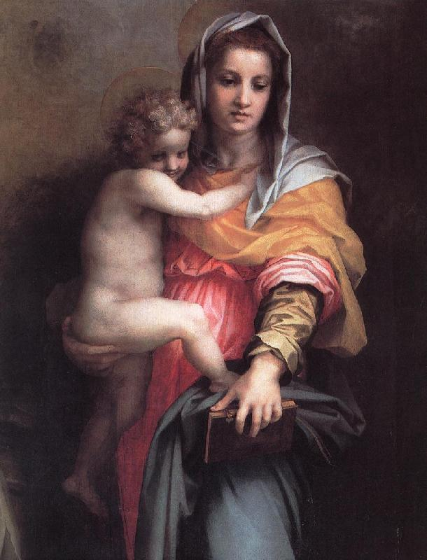 Andrea del Sarto Madonna of the Harpies (detail)  fgfg France oil painting art