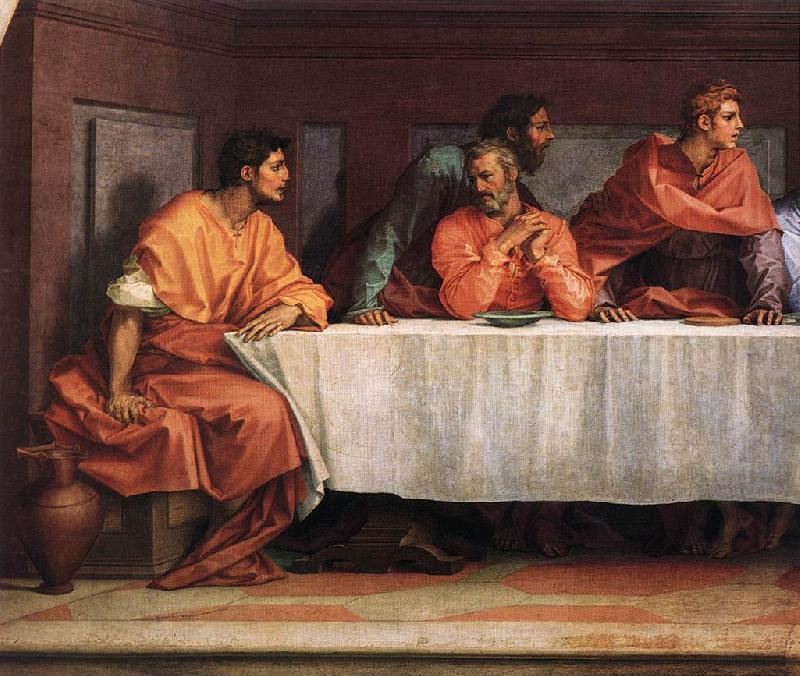 Andrea del Sarto The Last Supper (detail)  ii France oil painting art