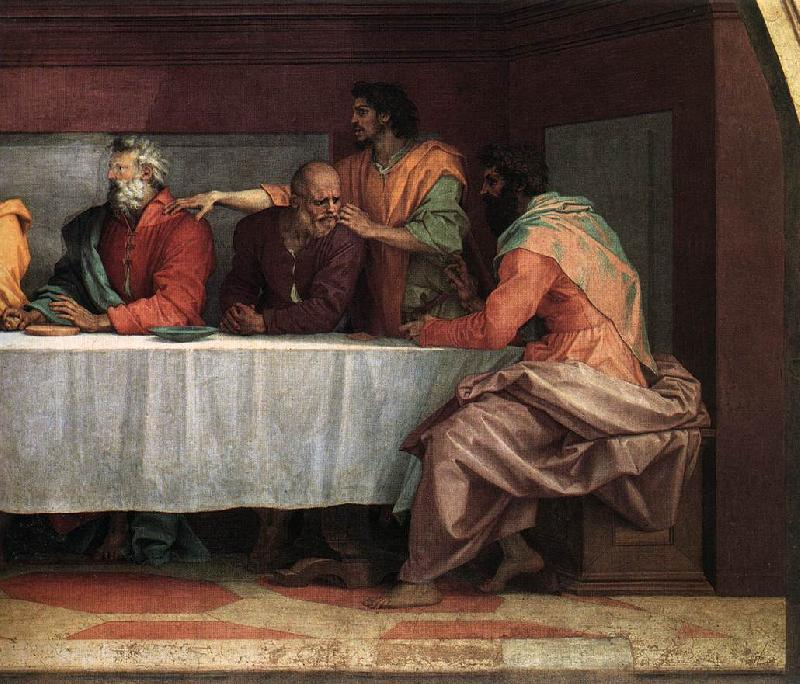 Andrea del Sarto The Last Supper (detail) aas France oil painting art