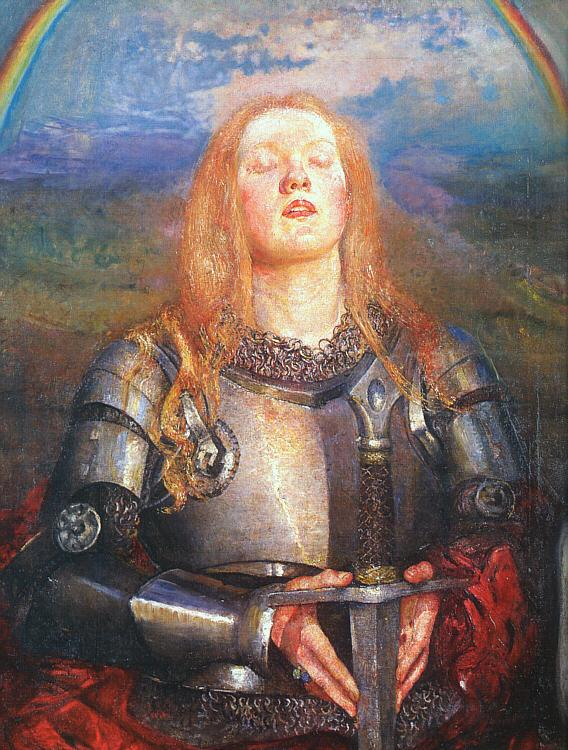 Annie Louise Swynnerton Joan of Arc France oil painting art