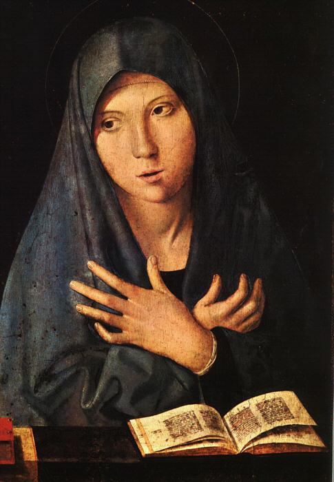 Antonello da Messina Virgin of the Annunciation fvv France oil painting art