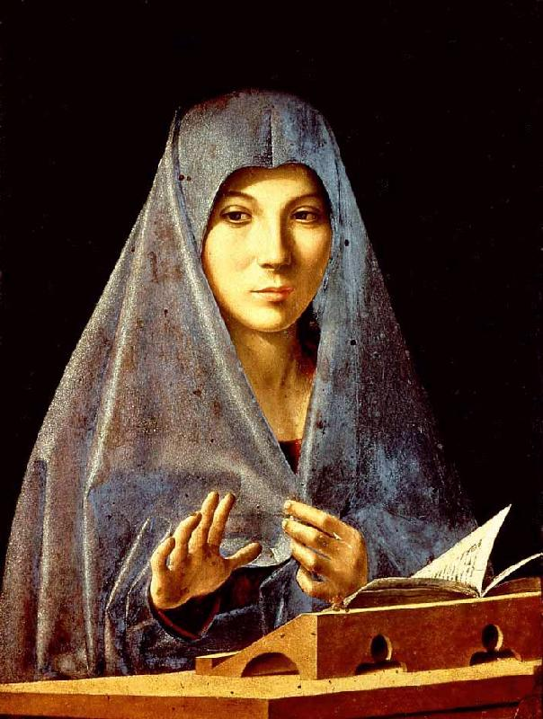 Antonello da Messina Virgin Annunciate hhh France oil painting art